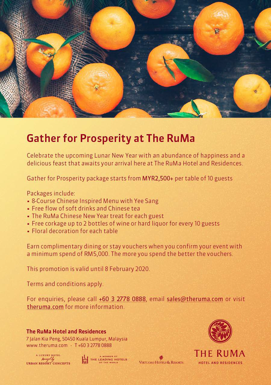 Gather for Prosperity at The RuMa